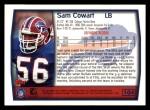 1999 Topps #104  Sam Cowart  Back Thumbnail