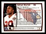 1999 Topps #2  Adrian Murrell  Back Thumbnail
