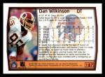 1999 Topps #187  Dan Wilkinson  Back Thumbnail