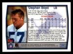 1999 Topps #191  Stephen Boyd  Back Thumbnail