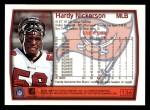 1999 Topps #136  Hardy Nickerson  Back Thumbnail