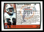 1999 Topps #64  Derrick Rodgers  Back Thumbnail
