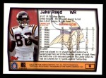 1999 Topps #9  Jake Reed  Back Thumbnail