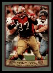1999 Topps #105  Bryant Young  Front Thumbnail