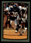 1999 Topps #65  Natrone Means  Front Thumbnail