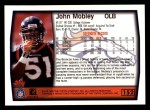 1999 Topps #152  John Mobley  Back Thumbnail