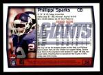 1999 Topps #56  Phillippi Sparks  Back Thumbnail