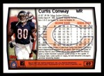 1999 Topps #49  Curtis Conway  Back Thumbnail