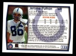 1999 Topps #133  Jerome Pathon  Back Thumbnail
