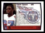 1999 Topps #145  Kevin Dyson  Back Thumbnail