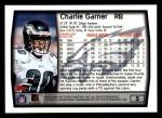 1999 Topps #5  Charlie Garner  Back Thumbnail