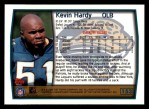 1999 Topps #153  Kevin Hardy  Back Thumbnail