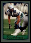 1999 Topps #255  Chad Brown  Front Thumbnail