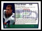 1999 Topps #255  Chad Brown  Back Thumbnail
