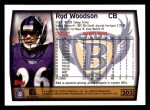 1999 Topps #202  Rod Woodson  Back Thumbnail