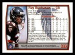 1999 Topps #235  Ray Buchanan  Back Thumbnail