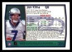 1999 Topps #305  Jon Kitna  Back Thumbnail