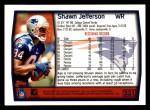 1999 Topps #231  Shawn Jefferson  Back Thumbnail
