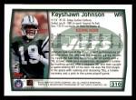 1999 Topps #310  Keyshawn Johnson  Back Thumbnail