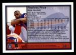 1999 Topps #351  Peerless Price  Back Thumbnail