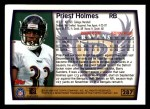 1999 Topps #287  Priest Holmes  Back Thumbnail