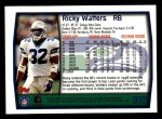 1999 Topps #237  Ricky Watters  Back Thumbnail