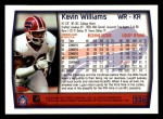 1999 Topps #236  Kevin Williams  Back Thumbnail