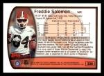 1999 Topps #328  Freddie Solomon  Back Thumbnail