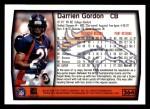 1999 Topps #264  Darrien Gordon  Back Thumbnail