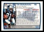 1999 Topps #241  Tim Biakabutuka  Back Thumbnail