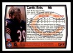 1999 Topps #247  Curtis Enis  Back Thumbnail