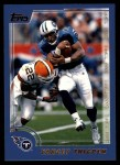 2000 Topps #195  Yancey Thigpen  Front Thumbnail