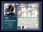 2000 Topps #84  Jimmy Smith  Back Thumbnail