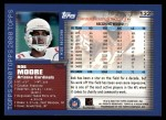 2000 Topps #132  Rob Moore  Back Thumbnail