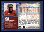 2000 Topps #188  Simeon Rice  Back Thumbnail