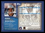 2000 Topps #17  Patrick Jeffers  Back Thumbnail