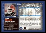2000 Topps #165  Jamir Miller  Back Thumbnail
