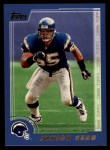 2000 Topps #34  Junior Seau  Front Thumbnail