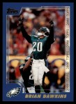 2000 Topps #131  Brian Dawkins  Front Thumbnail