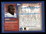 2000 Topps #91  Donnie Abraham  Back Thumbnail
