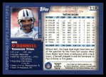 2000 Topps #118  Neil O'Donnell  Back Thumbnail