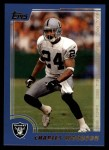 2000 Topps #193  Charles Woodson  Front Thumbnail