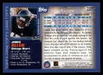 2000 Topps #108  James Allen  Back Thumbnail