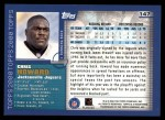2000 Topps #147  Chris Howard  Back Thumbnail