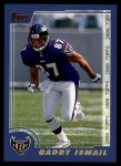 2000 Topps #190  Qadry Ismail  Front Thumbnail