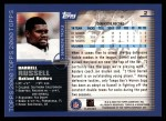 2000 Topps #2  Darrell Russell  Back Thumbnail