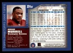 2000 Topps #105  Adrian Murrell  Back Thumbnail