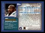 2000 Topps #115  Tony Brackens  Back Thumbnail