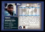 2000 Topps #23  Charles Johnson  Back Thumbnail
