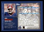 2000 Topps #71  Eric Moulds  Back Thumbnail